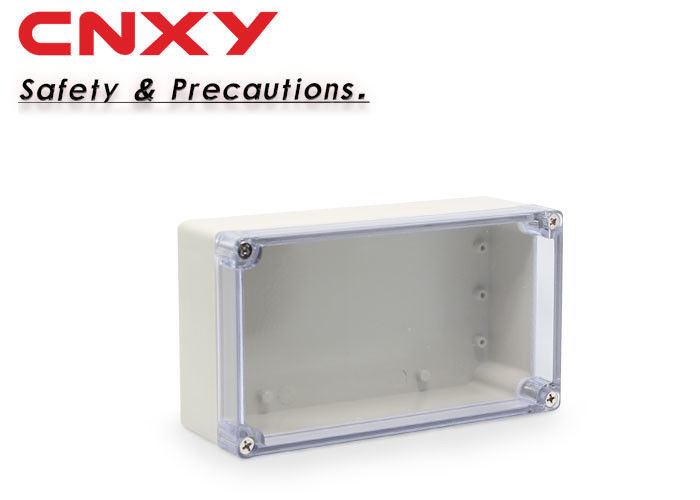 Safety Transparent Junction Box , Electronic Instrument Enclosures M1 150906T