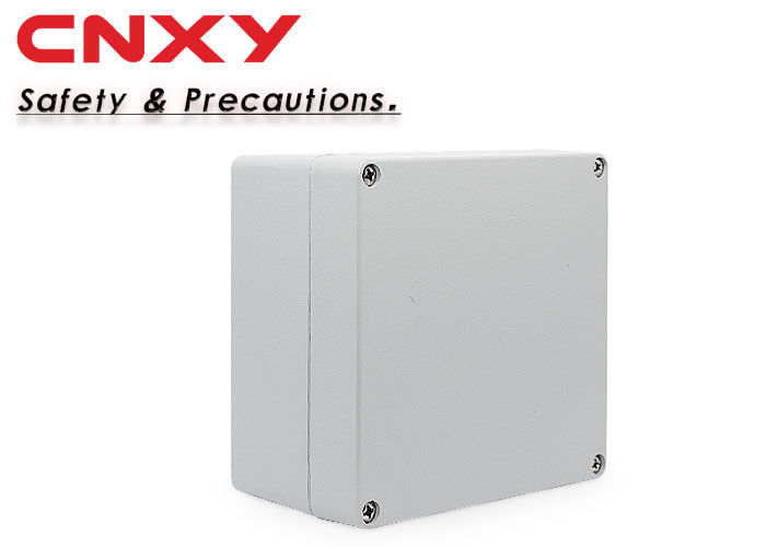 IP66 Square Aluminium Terminal Box Anti Corrosion For Petrochemical Industry