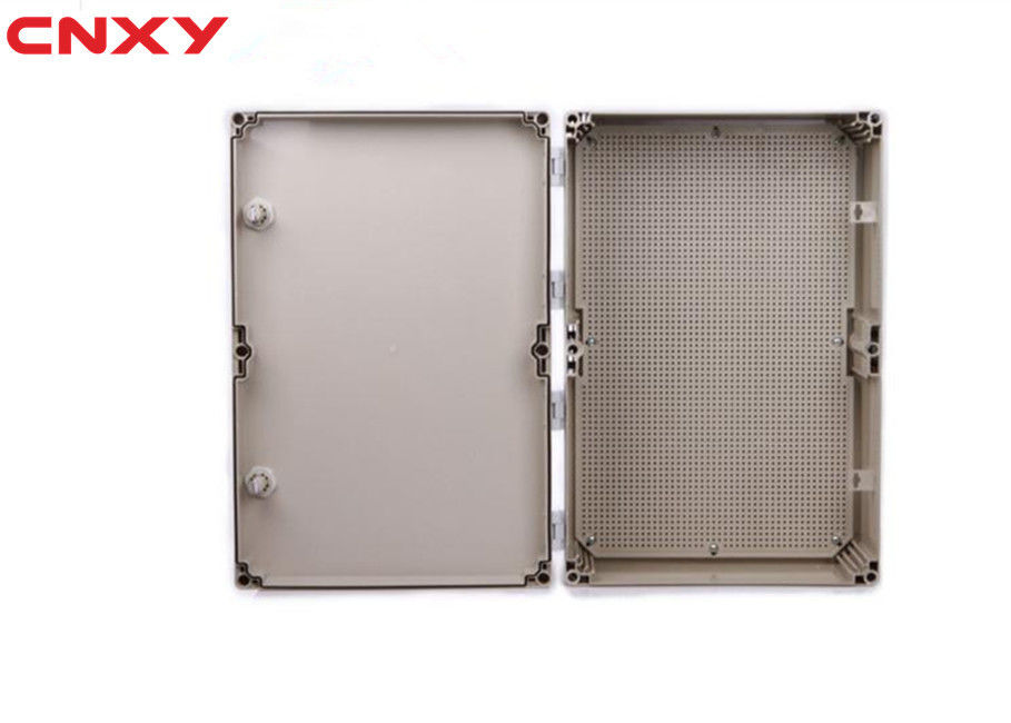 Industrial Waterproof Hinged Box , Electrical Distribution Box Fire Resistance